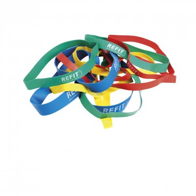 RUBBER BAND MEDIUM , GRÖN 10-PACK